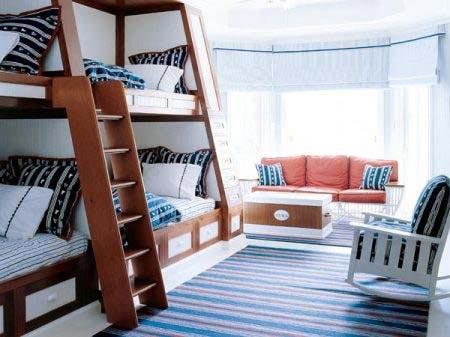 детская комната в морском стиле 07