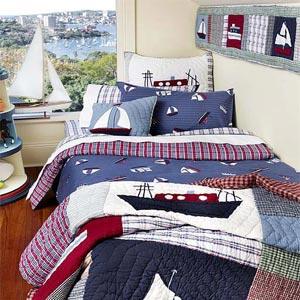 детская комната в морском стиле 08