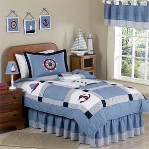 детская комната в морском стиле 12