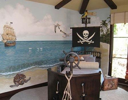 детская комната в морском стиле 15