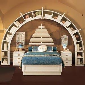 детская комната в морском стиле 17
