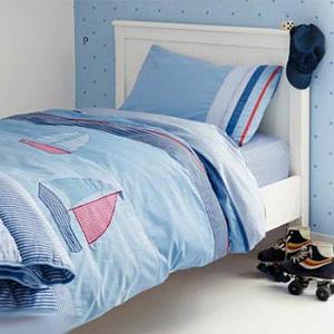 детская комната в морском стиле 19