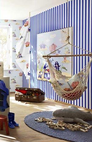детская комната в морском стиле 22