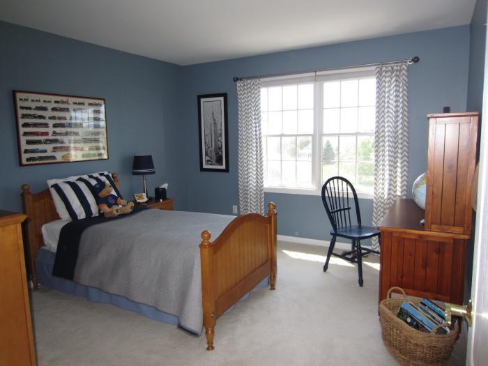 Комната для мальчика, классический стиль