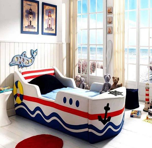 Кроватка со смешанным типом бортиков