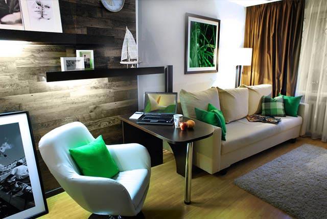 дизайн однокомнатной квартиры холостяка фото1