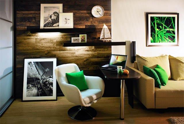 дизайн однокомнатной квартиры холостяка фото2