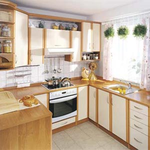 дизайн интерьер маленькой кухни 09