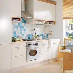 дизайн интерьер маленькой кухни 19