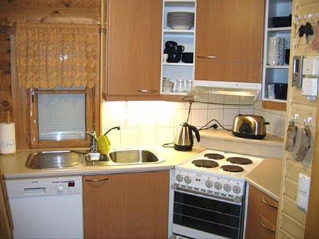 дизайн интерьер маленькой кухни 20