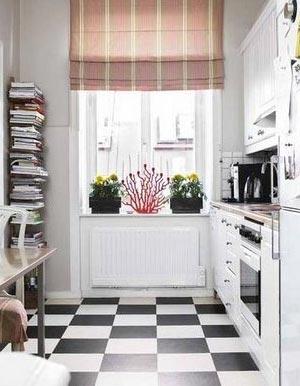 дизайн интерьер маленькой кухни 29