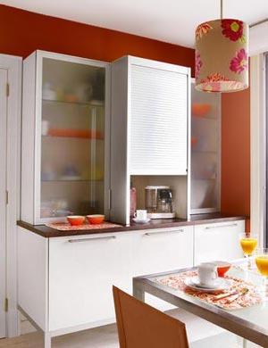 дизайн интерьер маленькой кухни 33