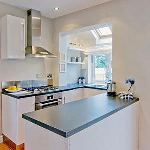 дизайн интерьер маленькой кухни 58