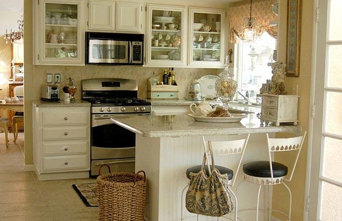 дизайн интерьер маленькой кухни 60