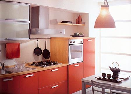 дизайн интерьер маленькой кухни 69
