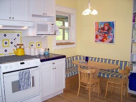 дизайн интерьер маленькой кухни 73