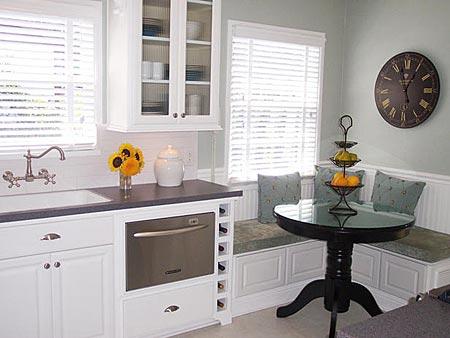 дизайн интерьер маленькой кухни 75