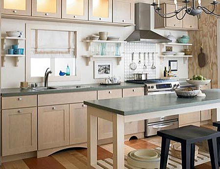 дизайн интерьер маленькой кухни 76