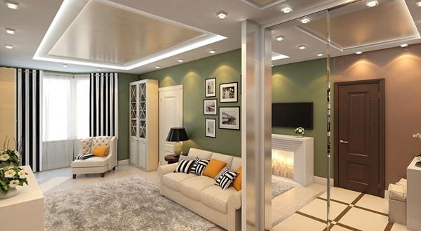 Дизайн квартиры 2016 (двухкомнатная) – 1