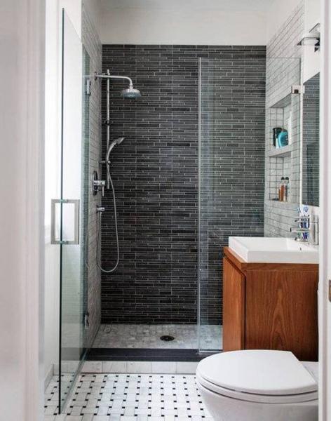 Фото дизайна ванной комнаты маленького размера