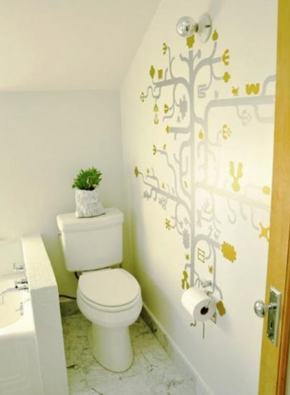 Цветовое решение для дизайна туалета 15