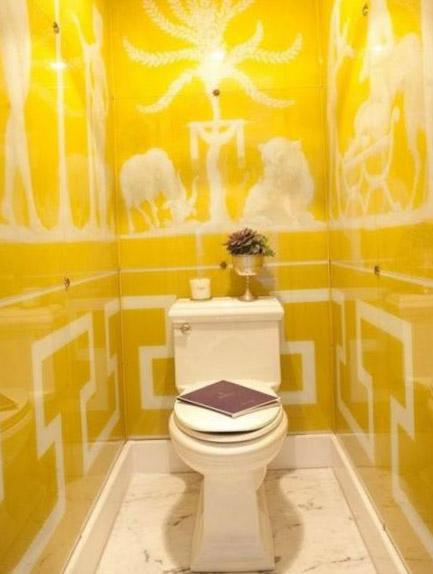 Цветовое решение для дизайна туалета 16