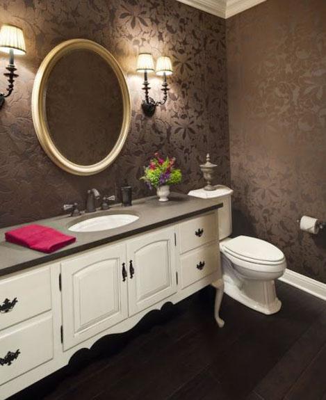 Приёмы для визуального увеличения площади туалета