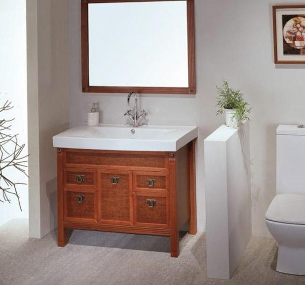 Приёмы для визуального увеличения площади туалета 1