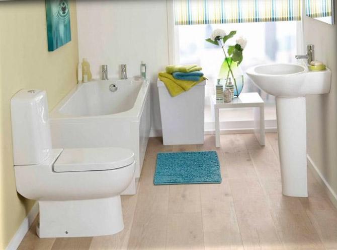 Туалет, совмещённый с ванной