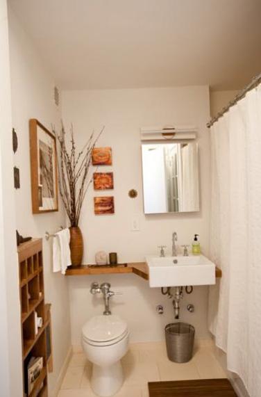 Туалет, совмещённый с ванной 2