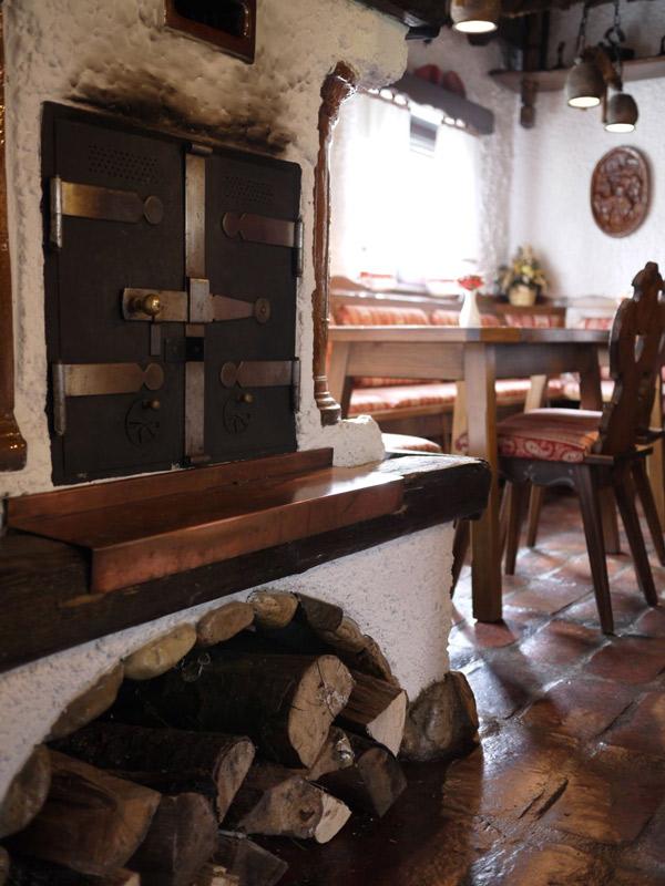 Экономная дровяная печь