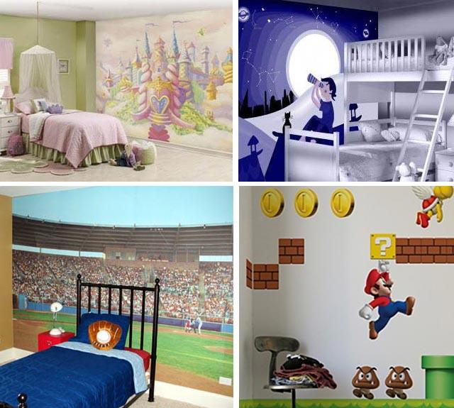 фотообои в детской комнате 44