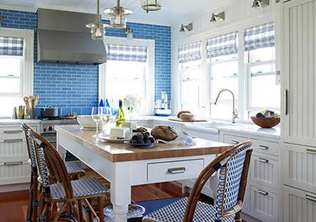 голубая кухня 16