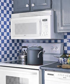 голубая кухня 21