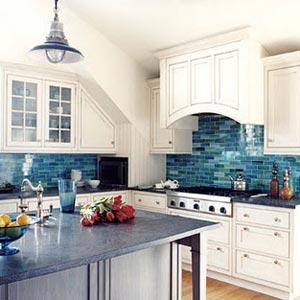 голубая кухня 22