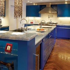 голубая кухня 24