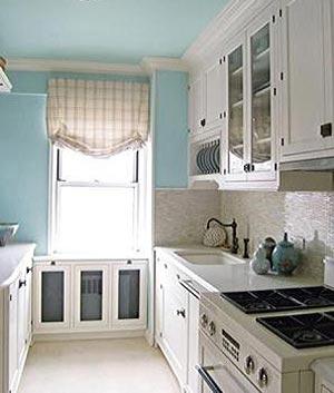 голубая кухня 27