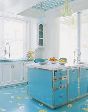голубая кухня 29