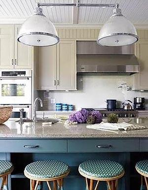 голубая кухня 30