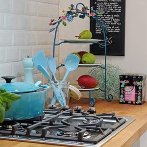 голубая кухня 32