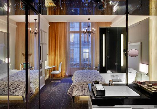 Спальня в номере отеля