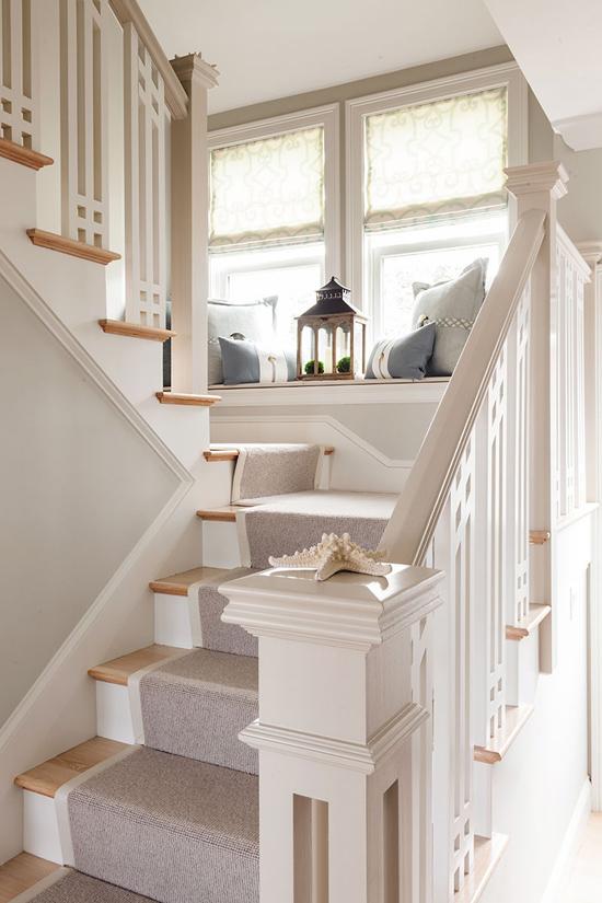 Лестница в винтажном доме
