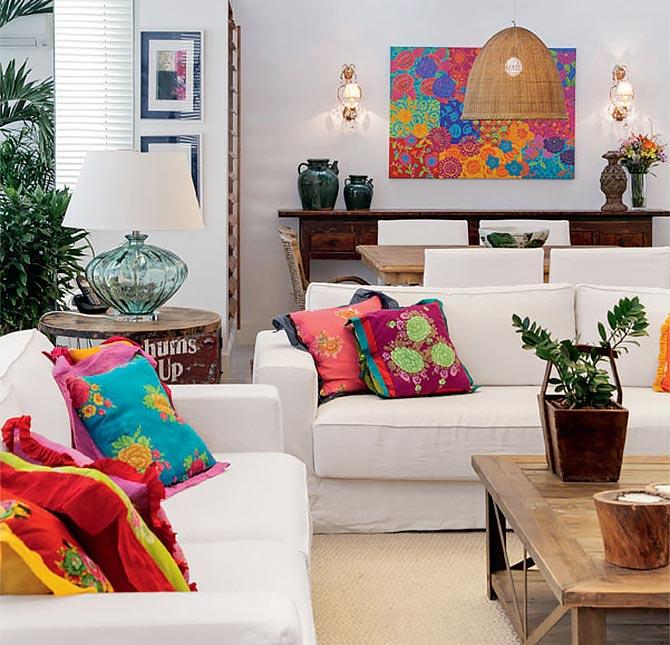 как подобрать декоративные подушки 31