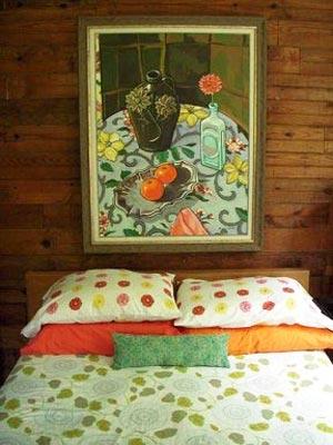 картины для спальни 09