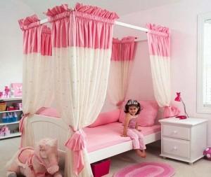 комната принцессы детская комната для девочки 02