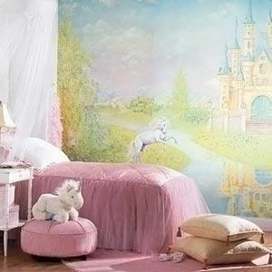 комната принцессы детская комната для девочки 08