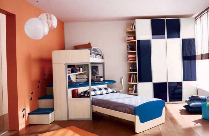 Фото детской комнаты для мальчика