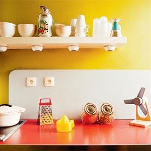 кухня белая и яркая 10