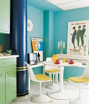 кухня белая и яркая 11