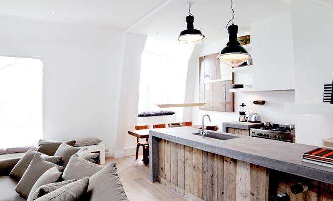 люстры и светильники в кухню-гостиную 17